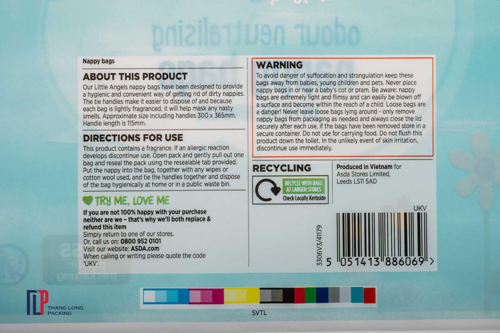 Túi LDPE (in nhiều màu)